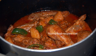 Filipino afritada recipe chicken afritada chicken afritada forumfinder