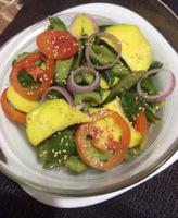 Ampalaya and Mango Salad