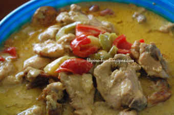 Chicken curry filipino style your chicken curry filipino style recipe shopping list forumfinder Images