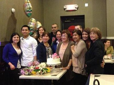 Mama's 78th birthday