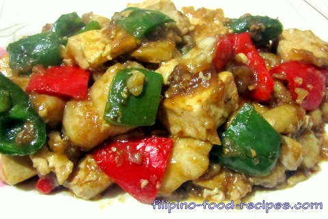Fish And Tofu Stir Fry