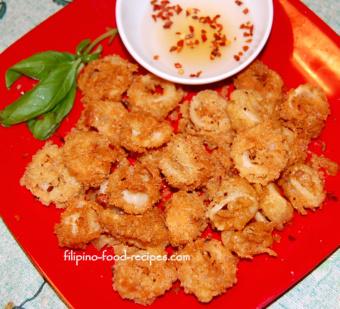 fried calamare