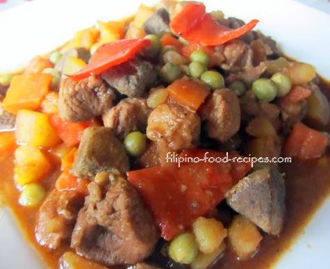 Filipino recipe menudo filipino recipe forumfinder Images