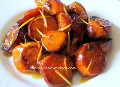 Orange Glazed Yams