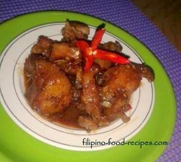Spicy Pork Liempo in Peanut Butter Sauce