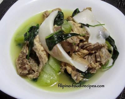 Chicken Binakol