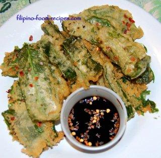 crispy kangkong