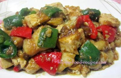 Fish and Tofu Stir-fry