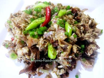 Lechon Manok Sisig