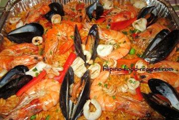 paella Filipino